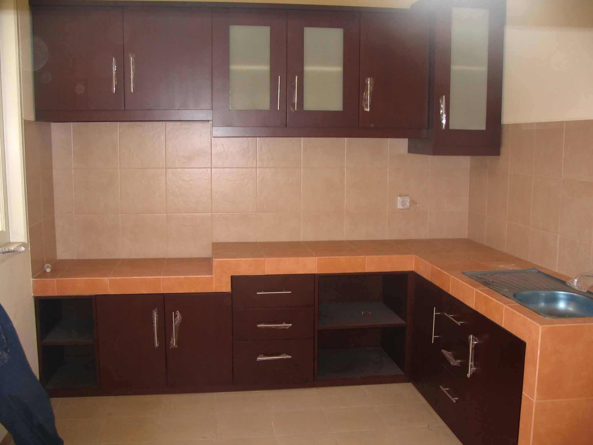 Kitchen Set Dapur Furniture Mebel Interior Arsitektur
